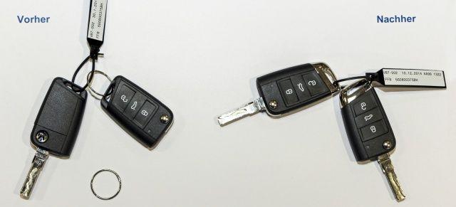 Volkswagen spart kräftig ein: Schlüsselringe für 130.000 Euro fallen weg