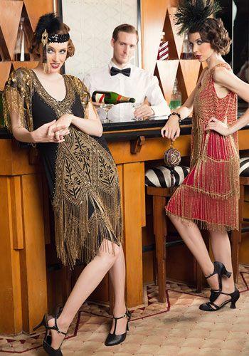 Great Gatsby fashion perfect!