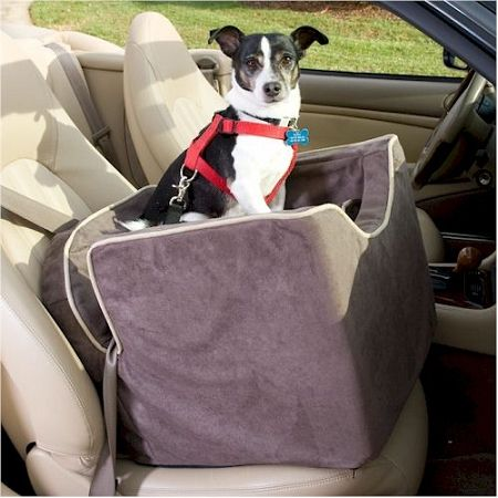 Snoozer Luxury Lookout I Pet Car Seat In Microsuede