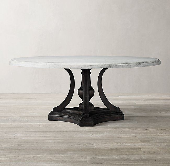 St James Marble Round Dining Table 48 60 72 Dining Table Marble Marble Dining Round Marble Dining Table