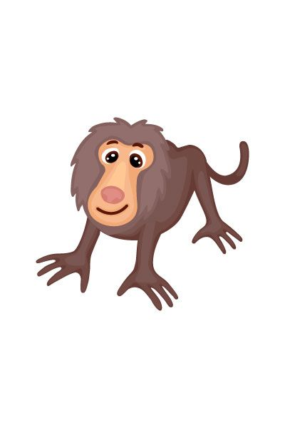 Baboon Vector Image #wild #animals #vector #handdrawvector #baboon http://www.vectorvice.com/wild-animals-vector-pack