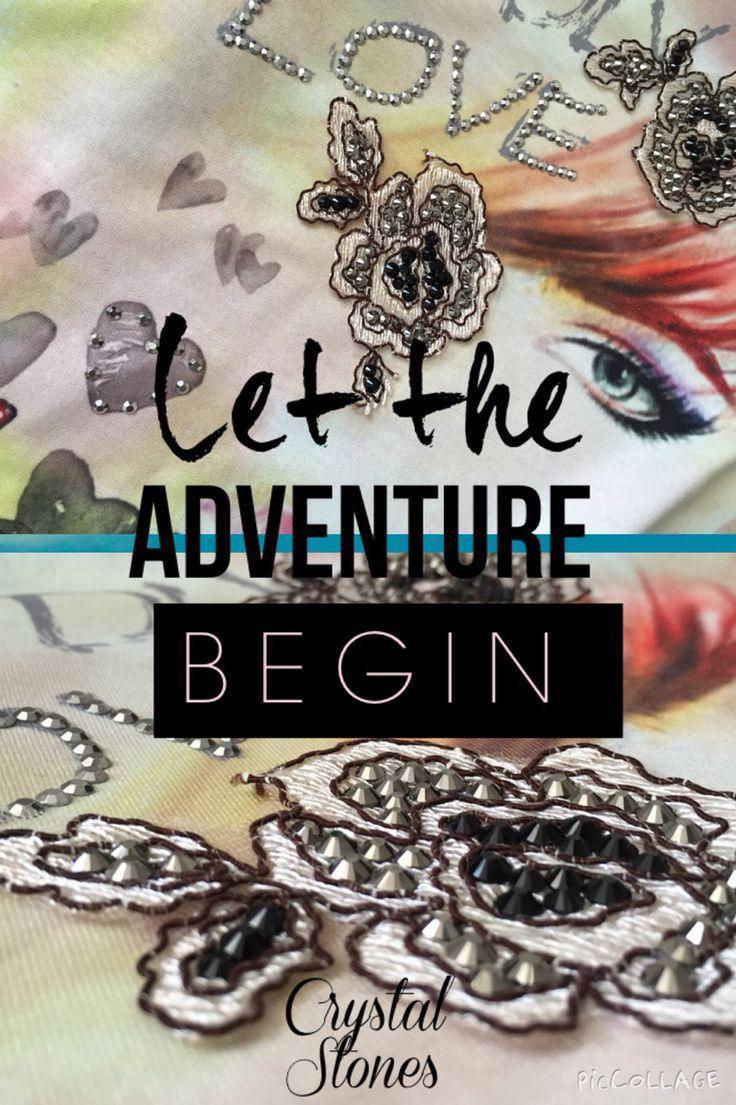 Let the adventure begin..!Crystal Stones