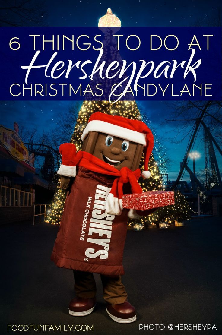 6 Things to Do at Hersheypark Christmas Candylane in Hershey, Pennsylvania - tons of fun family activities for holiday travel [#SweetestMoms Ambassador]