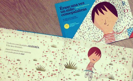 """Club Peques Lectores: cuentos y creatividad infantil: """"Érase una vez un niño comepalabras"""""""