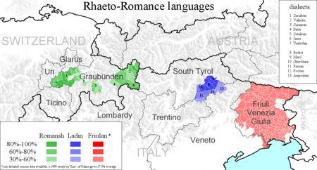 Bündnerromanisch – Wikipedia