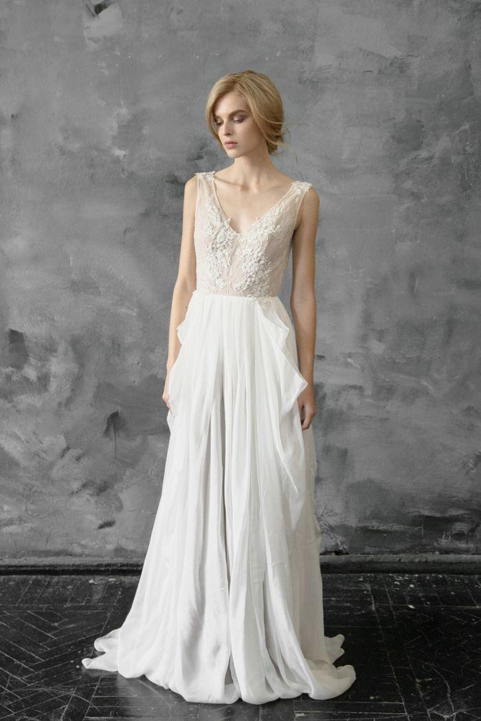 Trendy  Beautiful Beaded Wedding Gowns