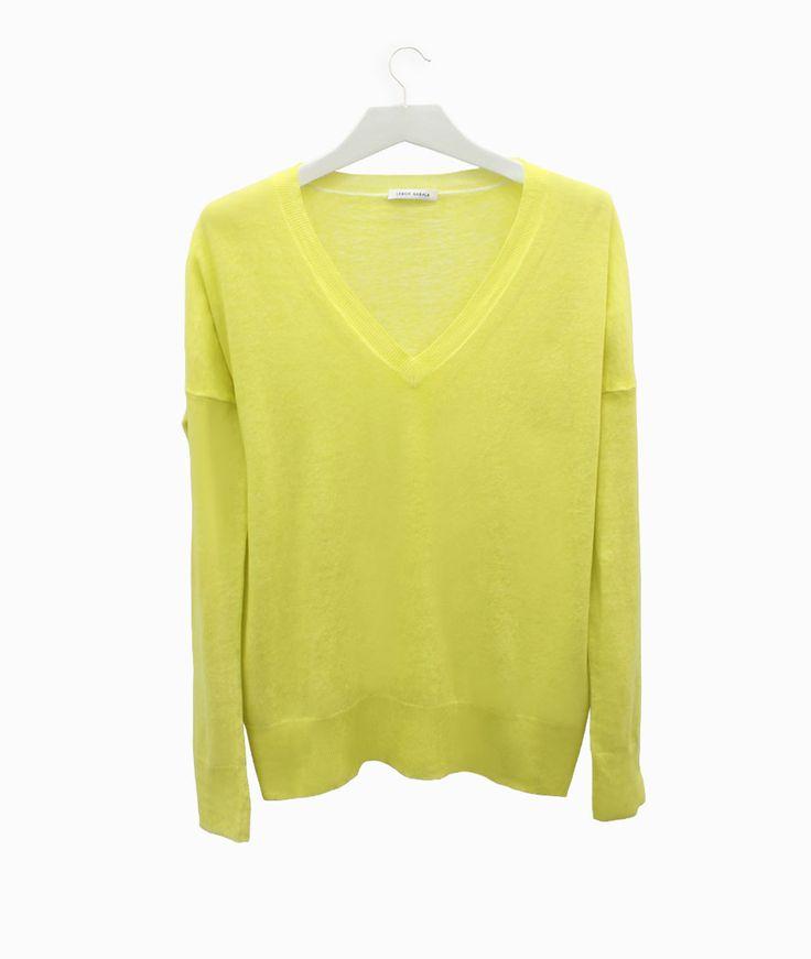 Lebor Gabala yellow sweater  #arropame #conceptstore #bilbao #ss2016 #LeborGabala #fashion #shopping #trendy #stylehttp://arropame.com/lebor-gabala-primera-capsula-ss16/