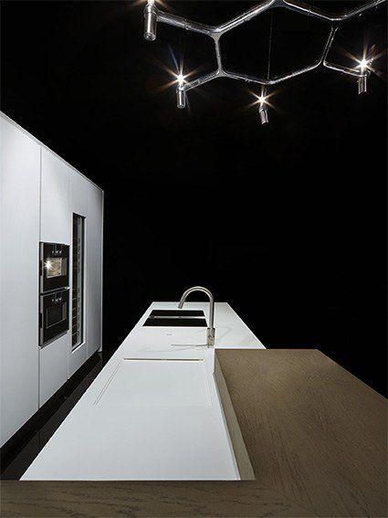 Fancy - ONE Corian® kitchen by RIFRA