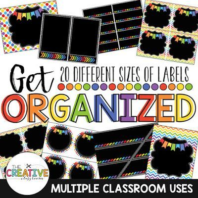 Use these printable classroom labels for your classroom ...