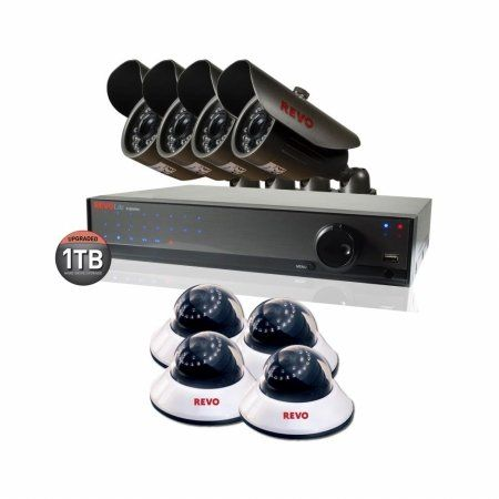 $399.99 - 16 Channel 1TB 960H #DVR #Surveillance System with 8 700TVL #Cameras