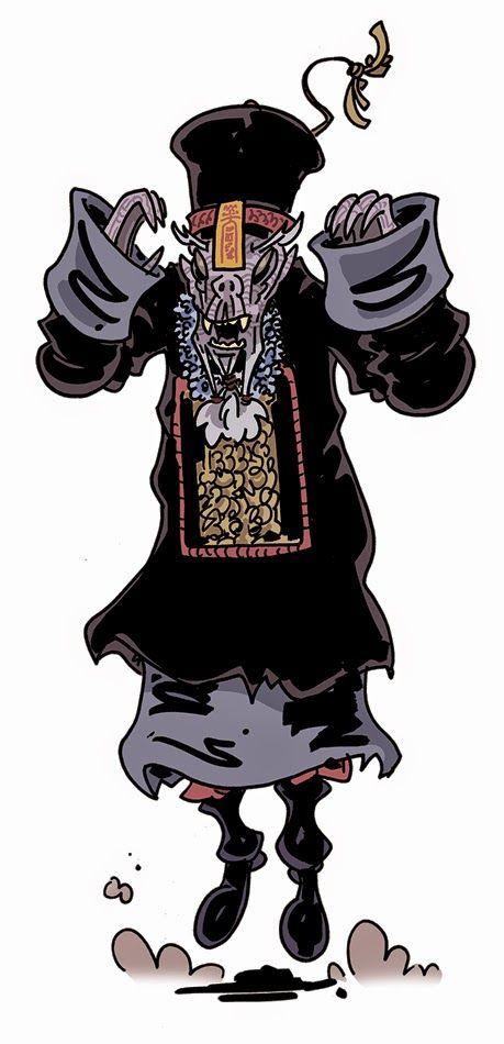 Jiang Shi, geongshi, a hopping vampire or zombie from China