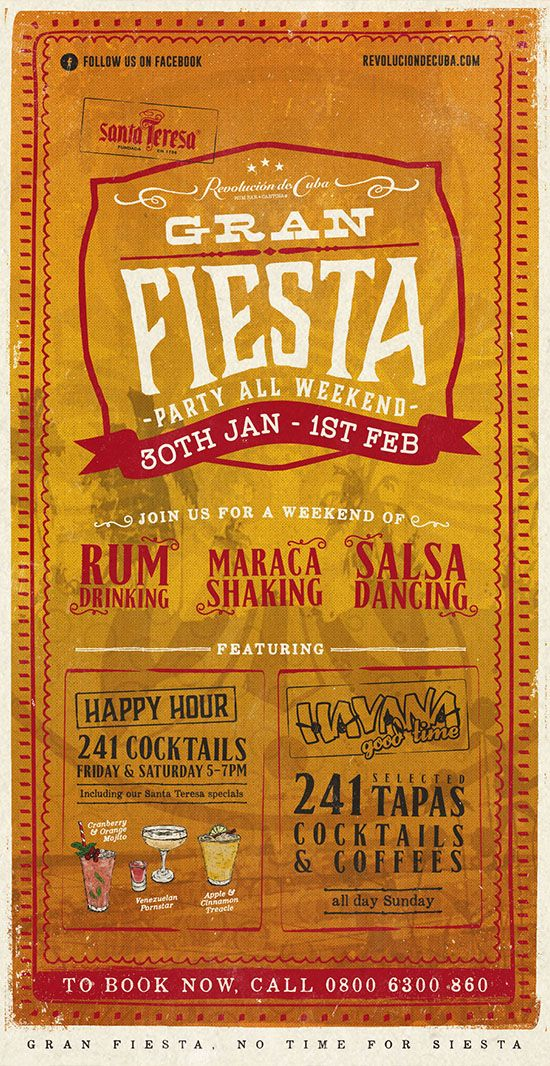 Cuban & Mexican Graphic Design, Type Designs by www.diagramdesign.co.uk