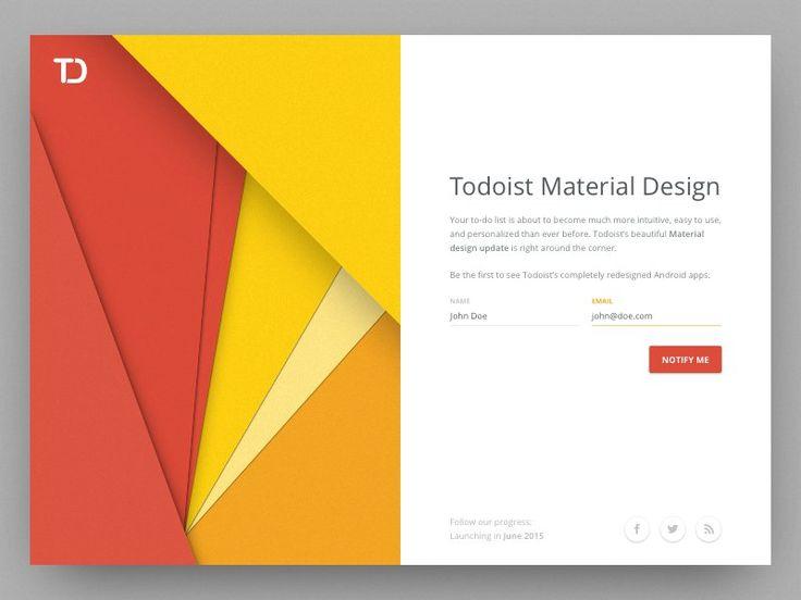 Distilling 5 Incredible Material Design Concepts — Design, Code and Prototyping — Medium