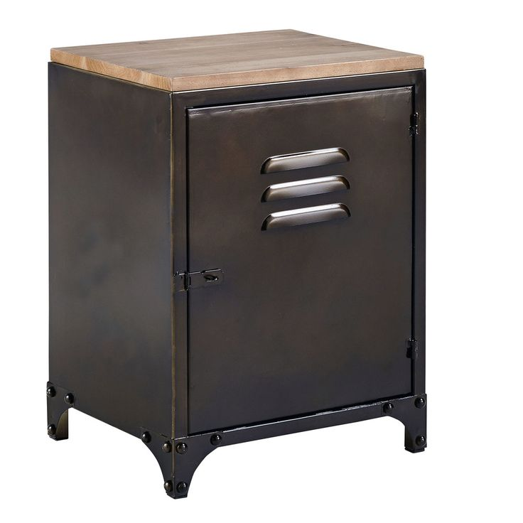 die besten 25 nachttisch metall schwarz ideen auf. Black Bedroom Furniture Sets. Home Design Ideas