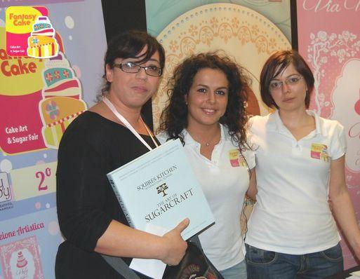 """Zaira Incorvaia - Secondo Trofeo Fantasy Cake. Premio del Pubblico e Premio Categoria """"Modelling"""""""