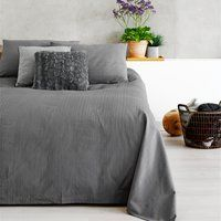 Sängöverkast ALVIK 160x220 grå