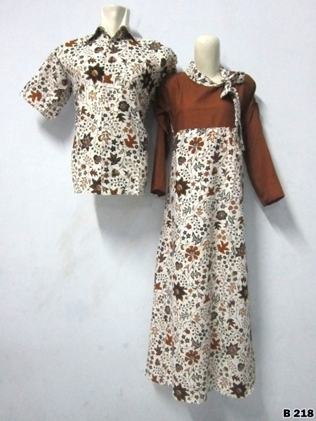 KODE B218 | IDR 175.000/pasang | Bahan : katun prima, batik sablon kombinasi | Size M, L, XL | Hotline : 081333303545 | BB Pin 2128117C.