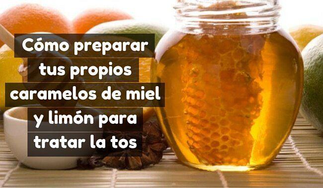 Los caramelos de miel y limón son un remedio natural con propiedades para calmar la tos. Te enseñamos a prepararlos en casa.