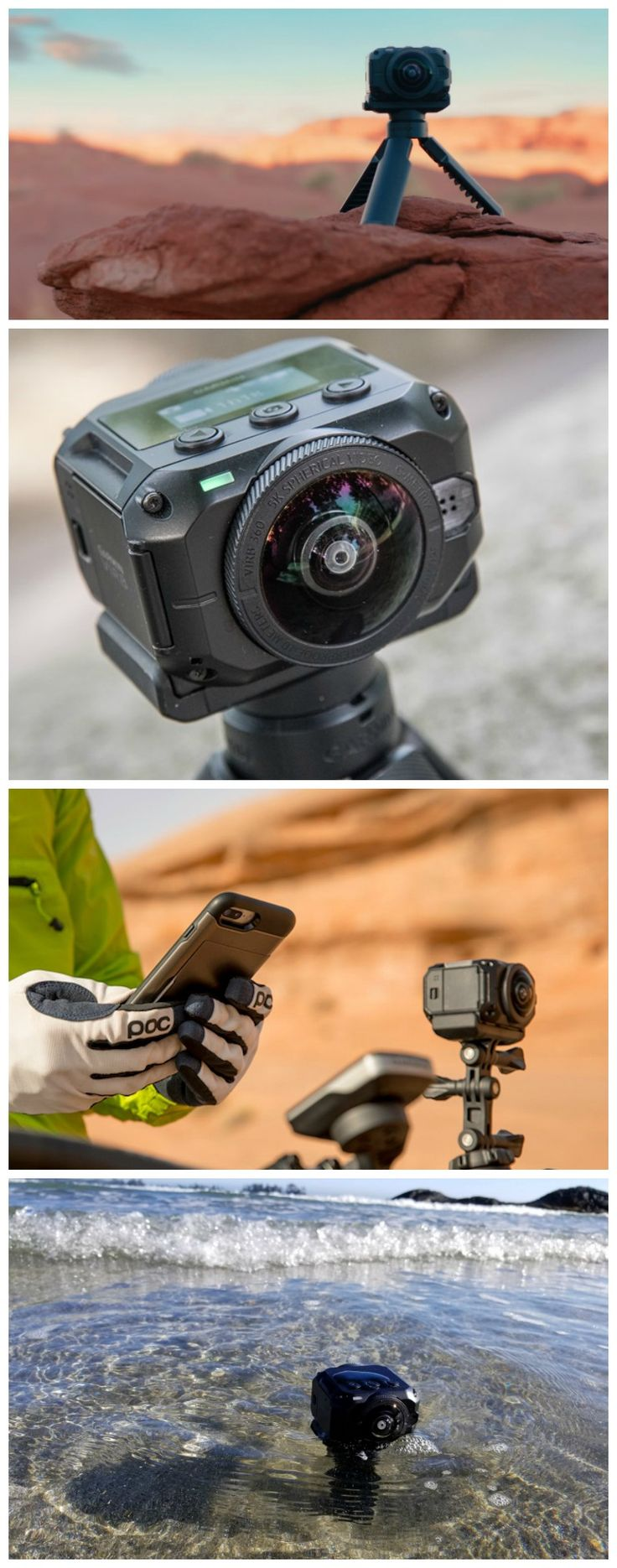 Garmin Virb 360 - Rugged, Waterproof 360-degree Action Camera with 5.7K/30fps Resolution and 4K Spherical Stabilization. #affiliate