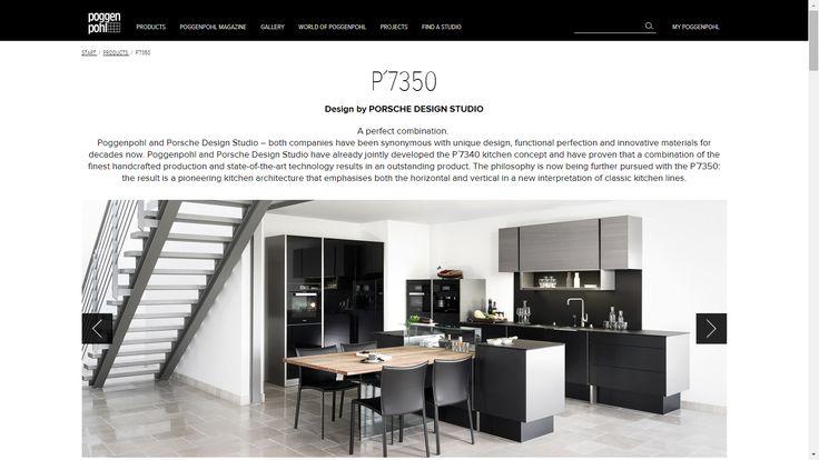 A perfect combination! The new P'7350 Design by Porsche Design Studio  /Know More: http://www.poggenpohl.com/en/products/p7350/