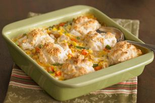 Cheesy Chicken Pot Pie recipe