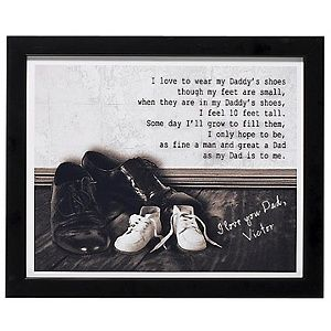 Always wanted to use this poem for Father's Day, and take a picture of the boys standing in dadddy's shoes!