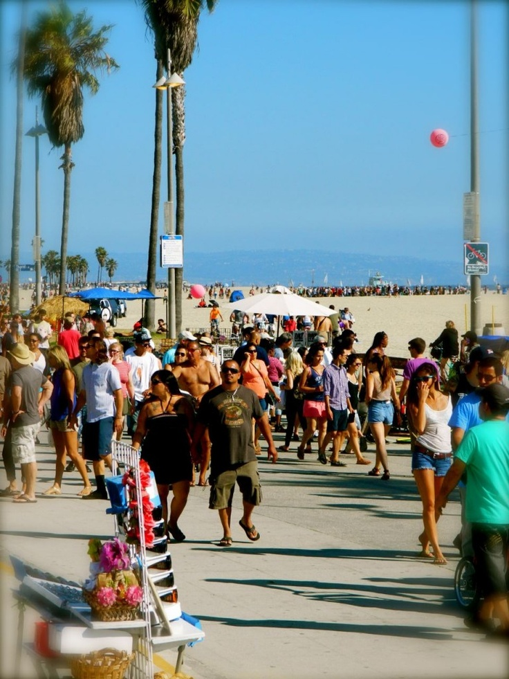 Venice boardwalk, Venice beach, USA