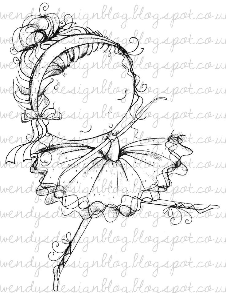 Abi+Ballerina+by+alldressedupstamps+on+Etsy,+£1.50