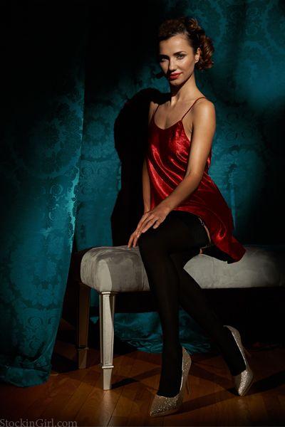 Silk Stockings StockinGirl Exclusive New Carmela Luxury