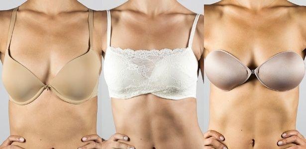 Usar o sutiã certo para cada tipo de decote melhora o caimento das roupas