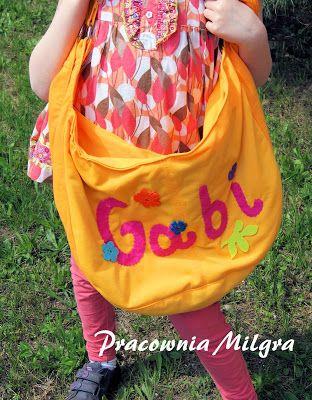 Pracownia Milgra: Torba dla Gabi