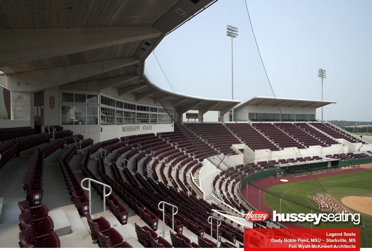 Dudy Noble Stadium -MSU - Stadium Seating: Photos - Hussey Seating