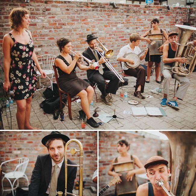 Mystical New Orleans Wedding: Cassandra + James--- eccentric band :D