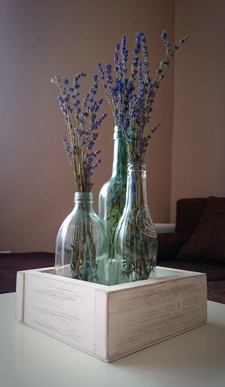 #vaze #levander #box #wood #bottle #decor #decoration #home #recycled