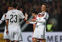 San Marino call for apology from Germany forward Thomas Muller