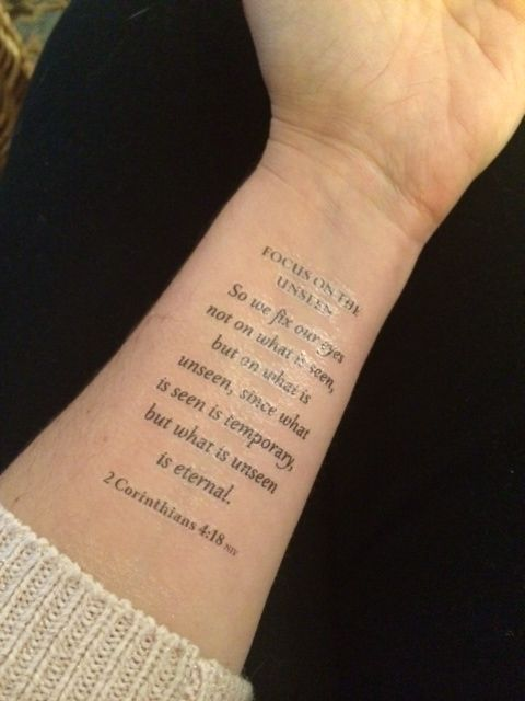 Armed with Truth Tattoo