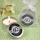 Adult 60th Birthday - Personalized Birthday Party Candle Tin Favors - http://partyfavorsforadults.com/adult-60th-birthday-personalized-birthday-party-candle-tin-favors/