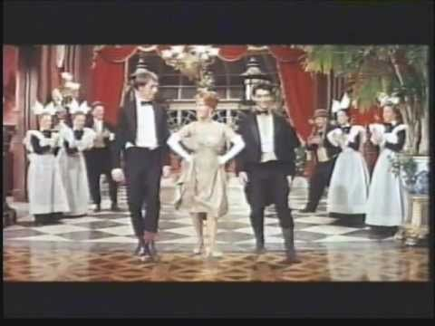 """""""He's my Friend,"""" Unsinkable Molly Brown, song and dance number, with Debbie Reynolds and Harve Presnell, 1964."""