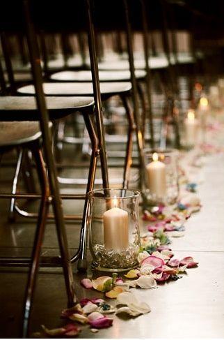 Wedding decorations for the isles | Wedding Ideas