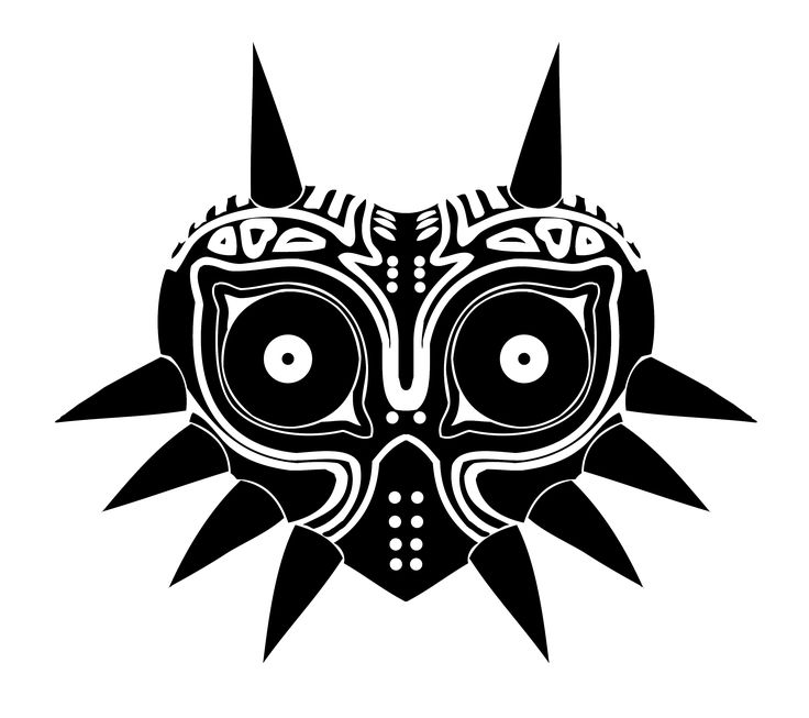 """Majoras Mask Vector"" by reptiletc.deviantart.com on @DeviantArt"