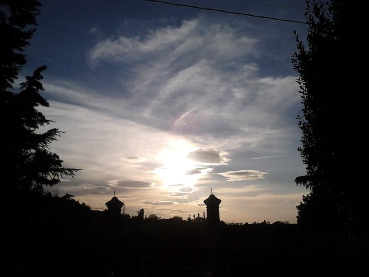 Albinea seven o' clock pm.