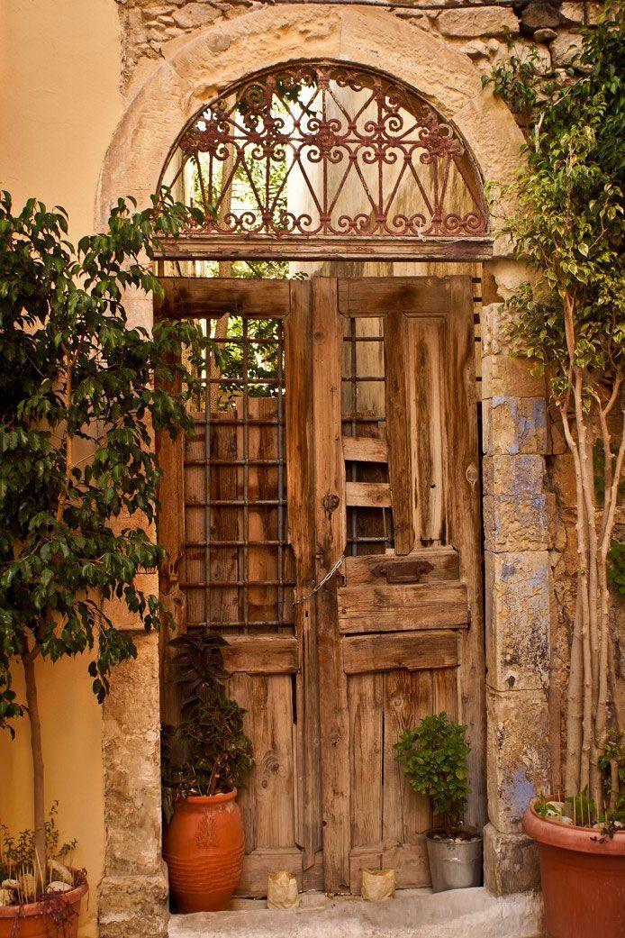 Old Cretan Door