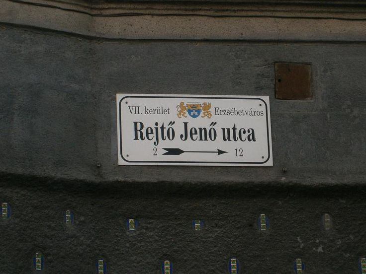 Rejtő Jenő utca