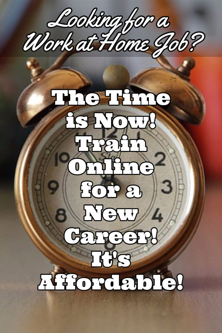 Now's the time! Training online for a work at home career is both convenient and affordable with Career Step! The staff is caring and encouraging. They really want you to succeed! Training programs for a variety of careers, including home-based! You can work at home! Learn more about training online for a work from home career with Career Step! #affiliate #workathome #workfromhome