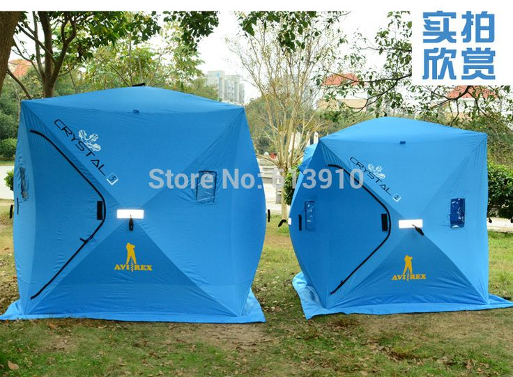 3Persons ice fishing tent original export to Russian/Winter cold weather waterproof fishing tent