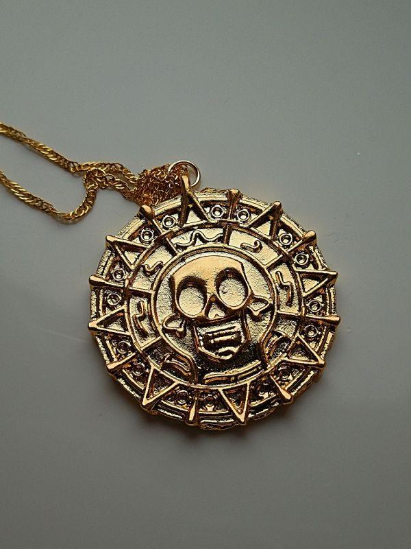 Elizabeth Swan's Cursed Aztec Gold Coin / Vervloekte Azteekse Gouden Munt