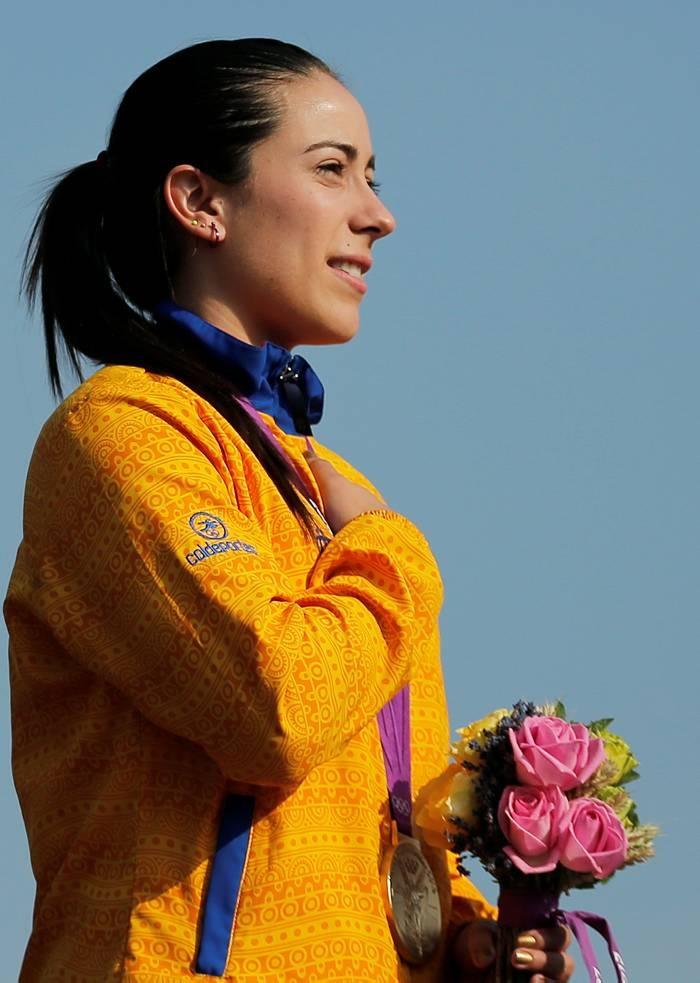 Mariana Pajon. Guerrera