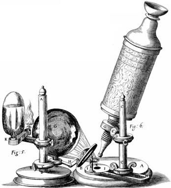 Robert Hooke's microscope  The members of the Royal Society were intellectuals from both the arts and science. Science had only just emerged as a discipline in its own right and many famous scientists were members of the Royal Society. Robert Hooke studied optics and the properties of metals under tension. He developed a new, improved microscope, called the compound microscope. This enabled him to observe detail, such as that shown by his flea drawing (see page 40), which no-one had ever…
