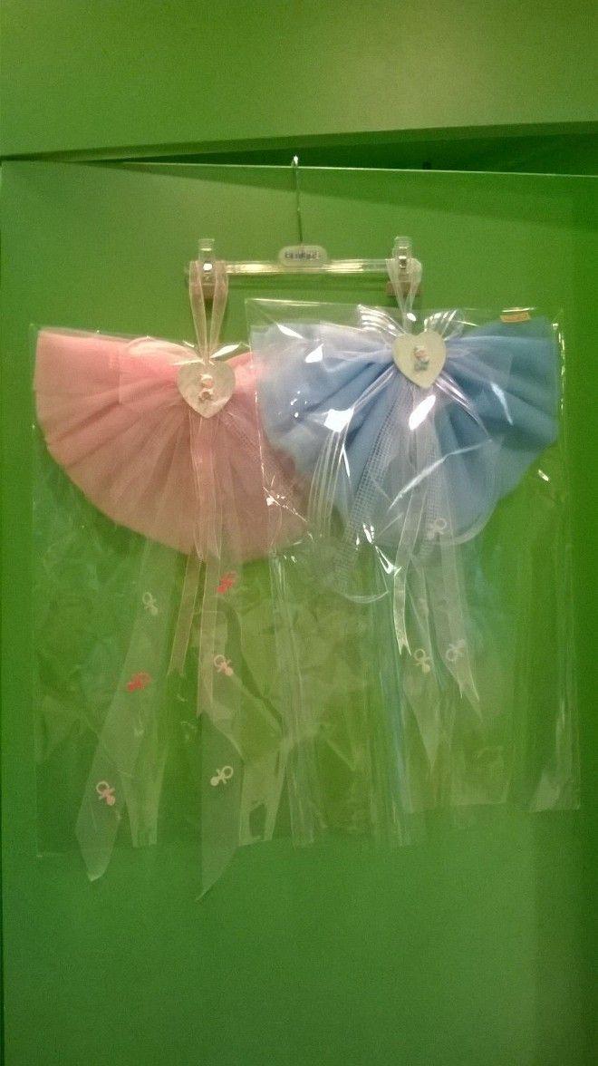 Fiocco nascita rosa/azzurro