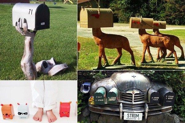 Дизайн домика для писем: топ-15 креативно оформленных почтовых ящиков